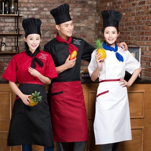 高档厨师工作服款式图片