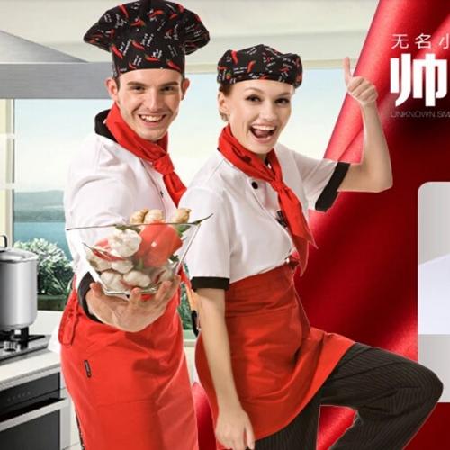 哪个色彩的厨师工作服更好看!