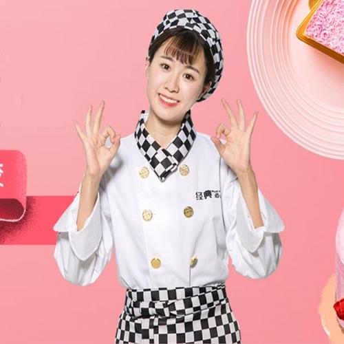 蛋糕烘焙店服务员工作服款式图片大全