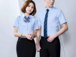 办公室白领职业衬衫短袖